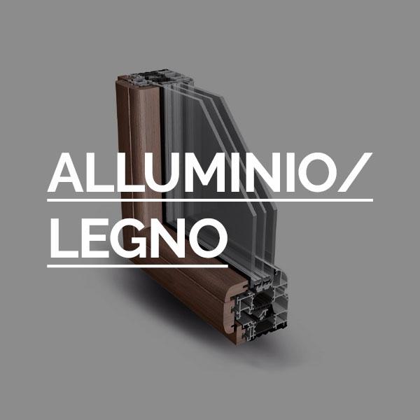 Alluminio / legno - Infissi Fratelli Modrone