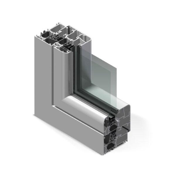 nodo alluminio - Infissi fratelli Modrone