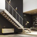 Scala in legno - Infissi Modrone
