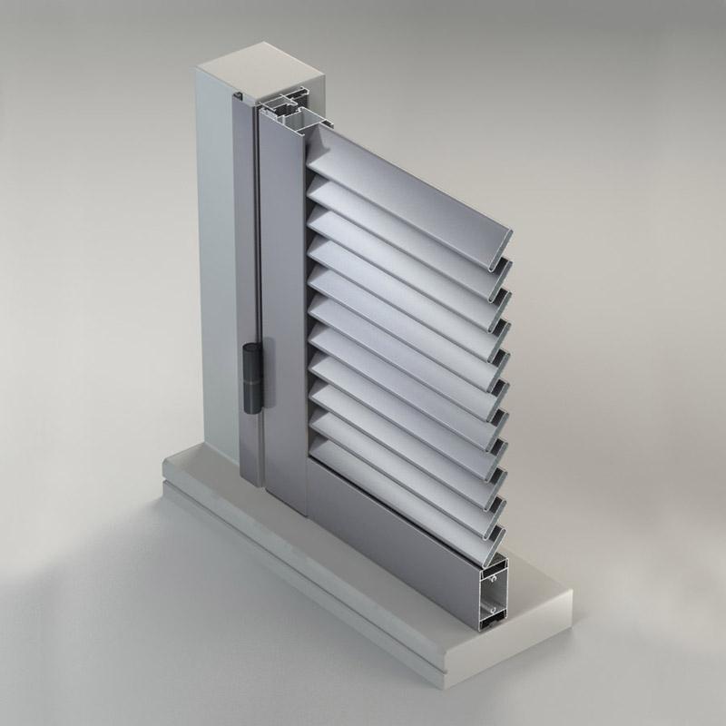 Persiane in alluminio - Infissi Fratelli Modrone